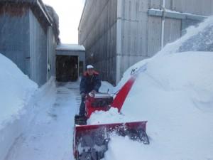 除雪作業 013.02.24