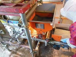 手作り施肥機